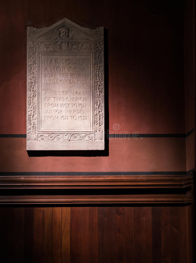 Boston-Dreifaltigkeitskirche lizenzfreies stockbild