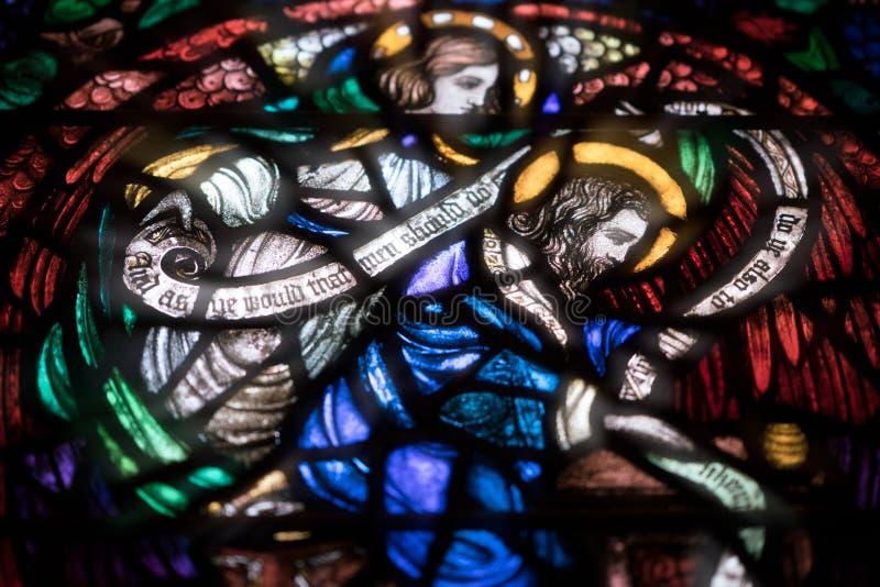 Boston-Dreifaltigkeitskirche lizenzfreies stockfoto