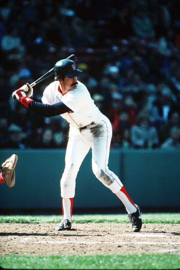 boston dwight evans Red Sox arkivfoton