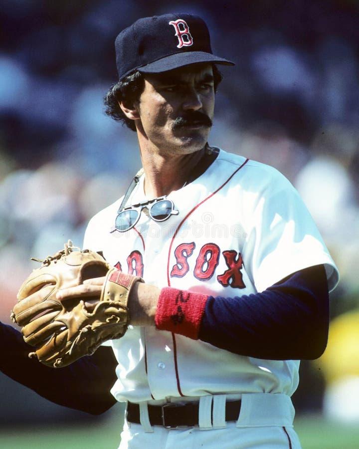 boston dwight evans Red Sox arkivfoto