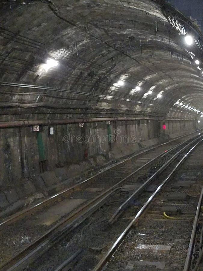 Boston e túnel imagem de stock