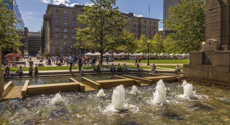 Boston en Massachusetts, los E fotos de archivo libres de regalías