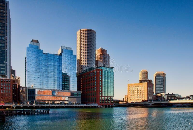 Boston-Fort-Punkt-Kanal stockbilder