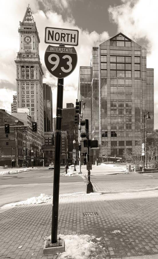 Boston gammalt beställnings- hus fotografering för bildbyråer