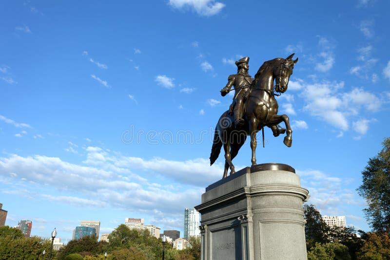 Boston George Washington Statue photo stock