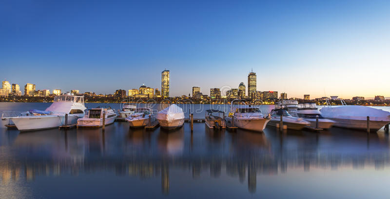 boston gromadzki w centrum pieniężny Massachusetts usa obrazy stock