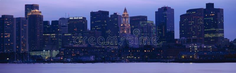 Boston-Hafen stockfoto