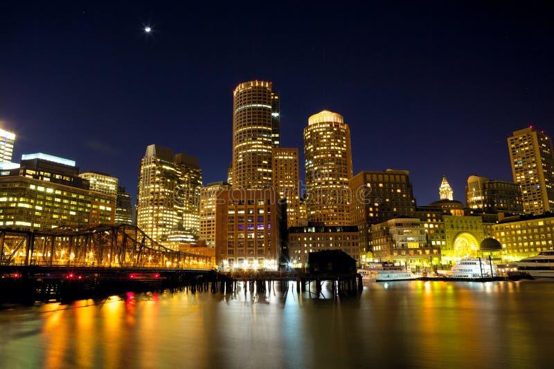 Boston-Hafen stockfotografie