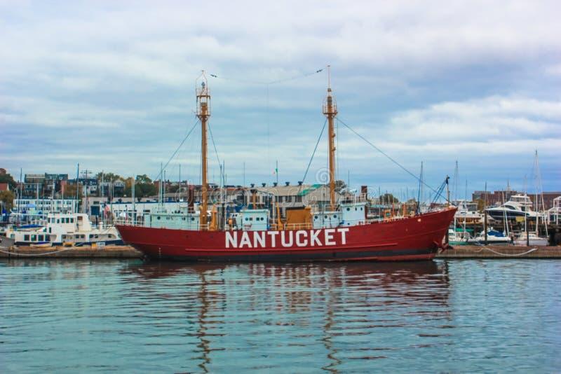Boston-Hafen lizenzfreies stockfoto