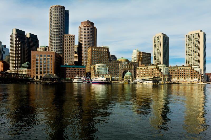 Boston Harbor stock photography