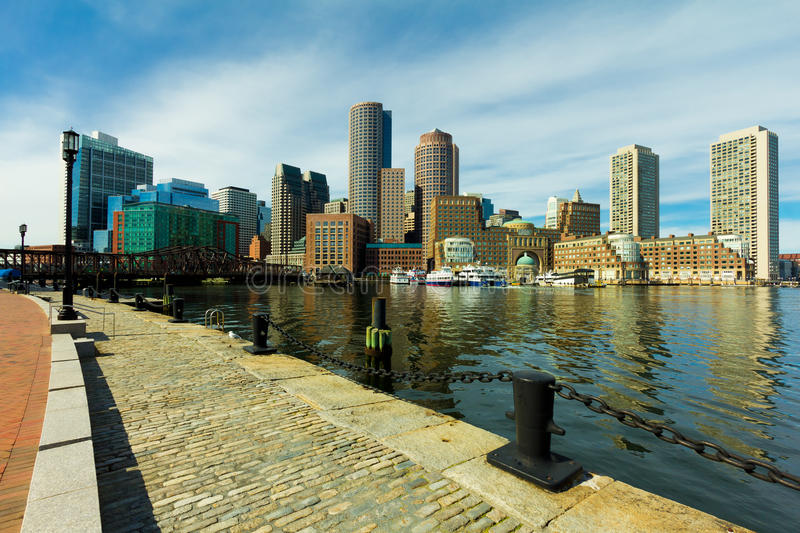 Download Boston Harbor stock photo. Image of metropolis, navigate - 18727440