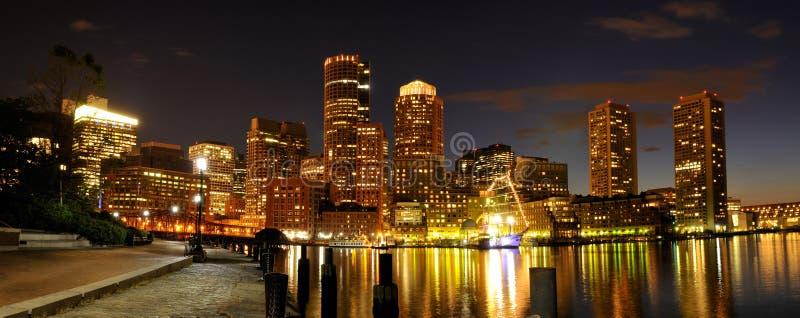 Download Boston Harbor and Skyline stock image. Image of dusk - 19798089
