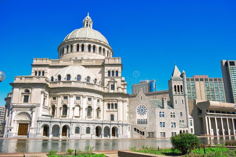 Boston historisk byggnad arkivbild