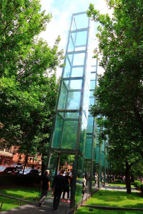 Boston holokausta pomnik obrazy stock