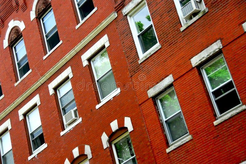 Boston House Fragment Stock Photos