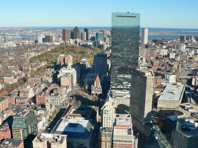 Boston im Stadtzentrum gelegen lizenzfreie stockbilder