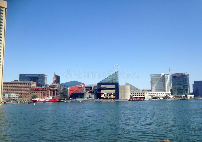 Boston inneres Harber lizenzfreie stockbilder