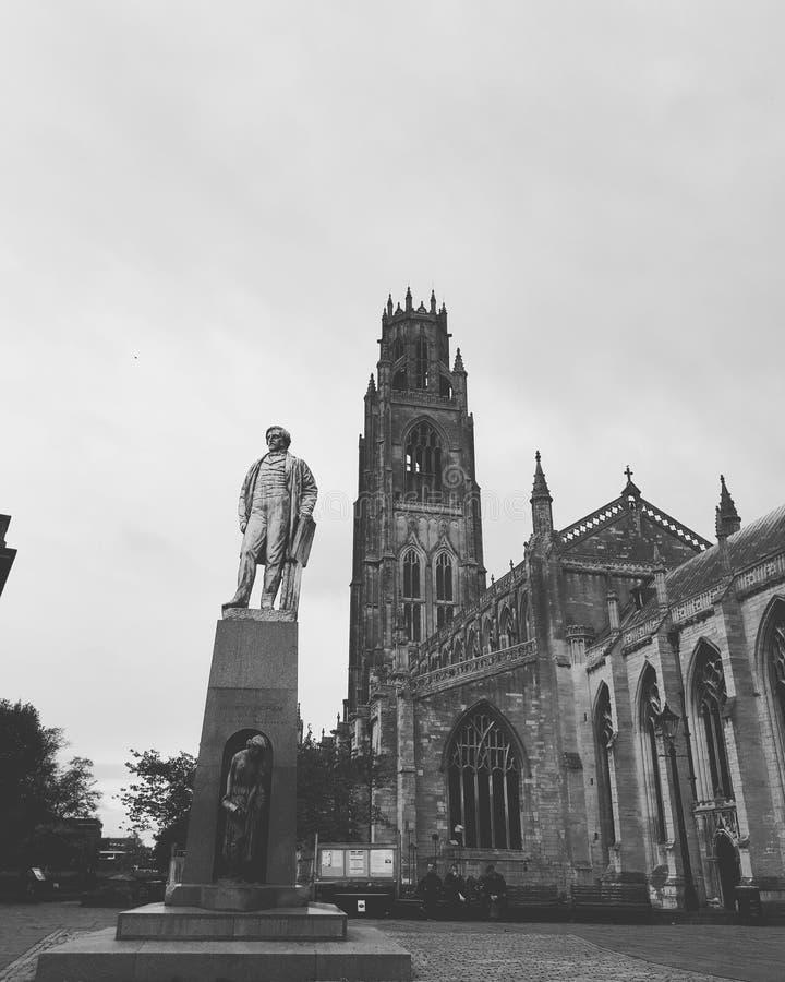 Boston-Kathedrale stockfotografie