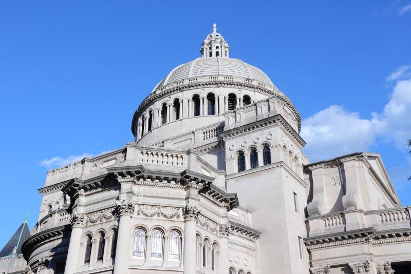 Boston-Kirche lizenzfreies stockbild
