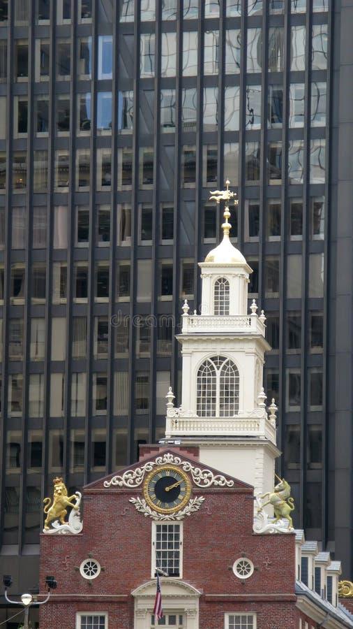 boston kyrkligt gammalt royaltyfri bild
