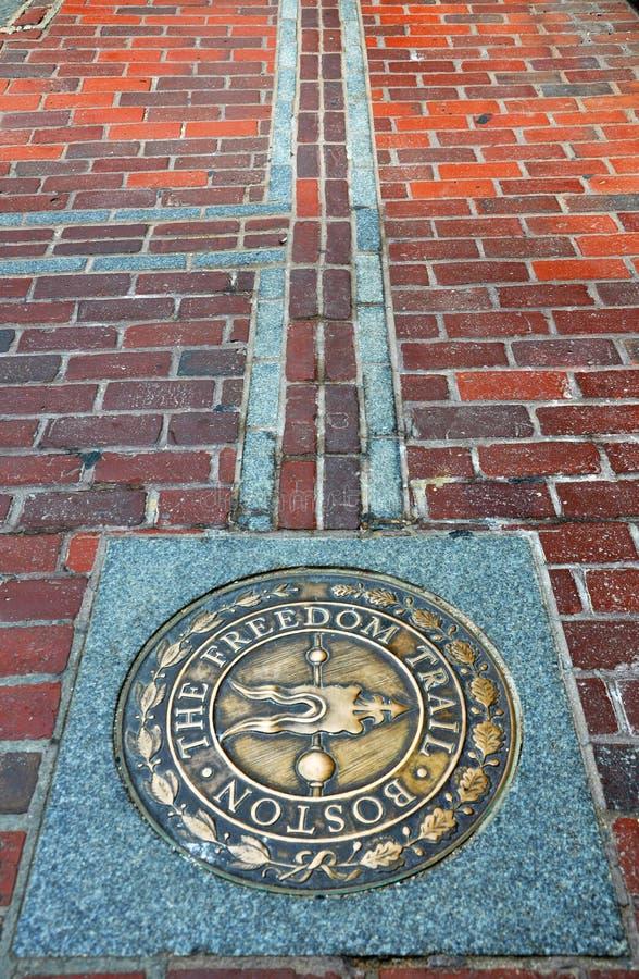 Boston le journal de liberté photo libre de droits