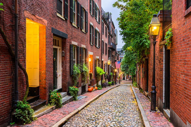 Boston, le Massachusetts, Etats-Unis photo stock
