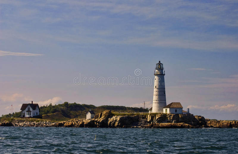 Download Boston Lighthouse stock image. Image of shipping, signal - 12903285