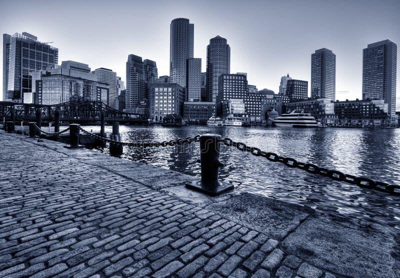 boston linia horyzontu zdjęcia stock