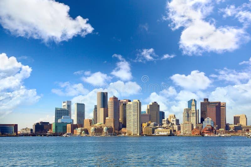 Boston linia horyzontu obraz royalty free