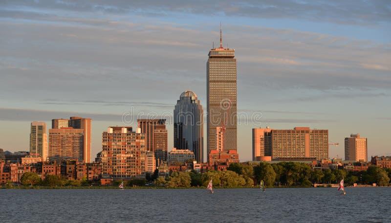 Boston linia horyzontu obrazy stock