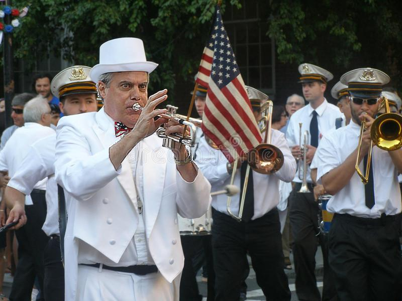Boston, MA, usa, Sierpień 28, 2012: Świętego Anthony ` s uczta zdjęcie royalty free