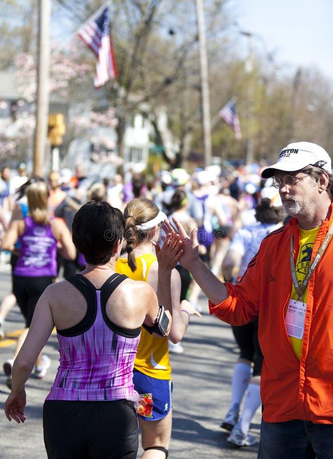 Boston Marathon royalty free stock images
