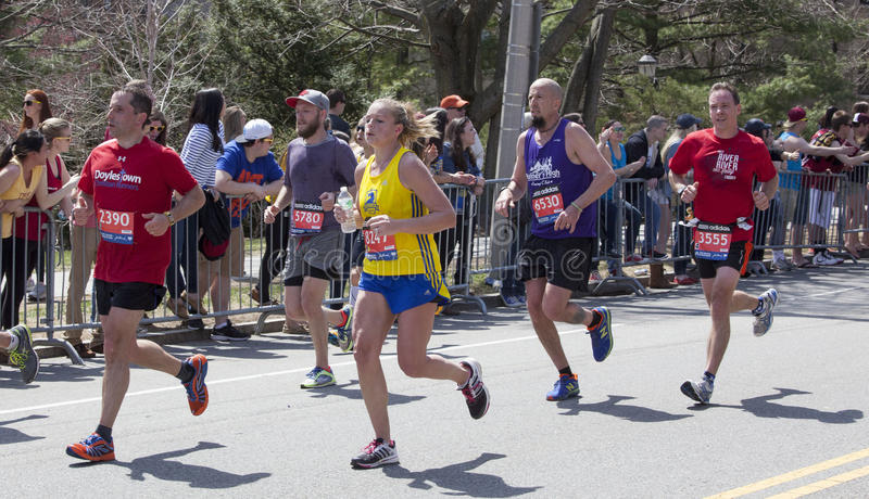 Download Boston Marathon 2014 editorial stock image. Image of competition - 39988269