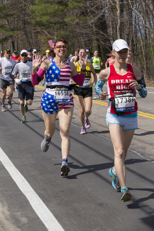 The Boston Marathon 2014 Editorial Photography