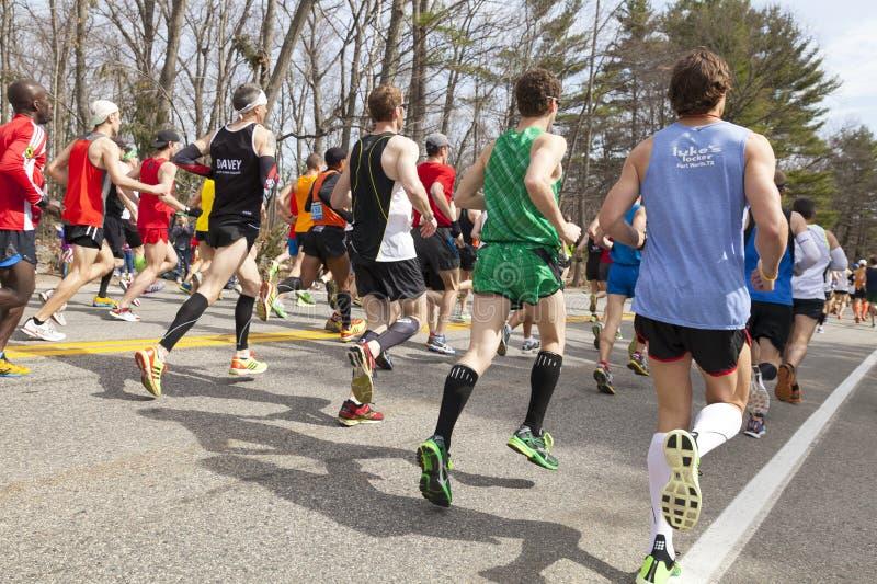 Boston maraton 2013 fotografia royalty free