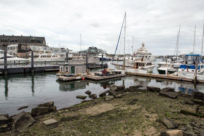 Boston Marina obrazy stock