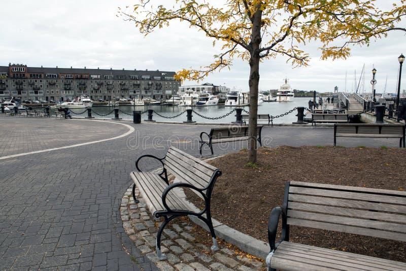 Boston Marina zdjęcie stock