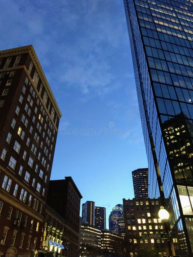 boston massachusetts стоковая фотография rf