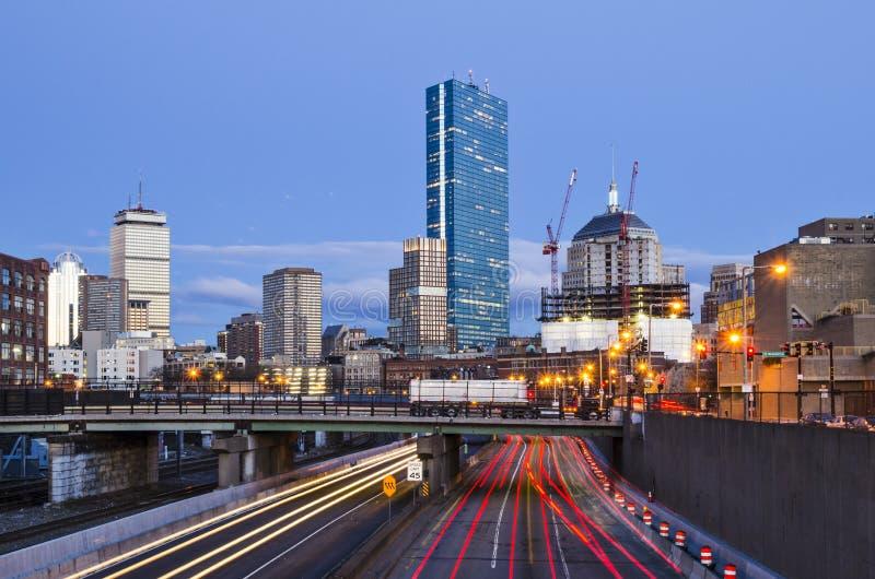 Boston Massachusetts arkivfoto