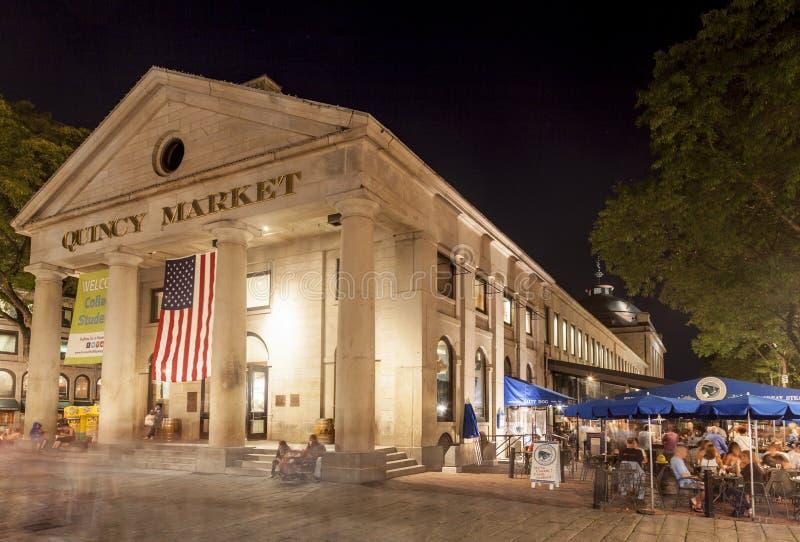 Boston Massachusetts Quincy Market royalty free stock photography