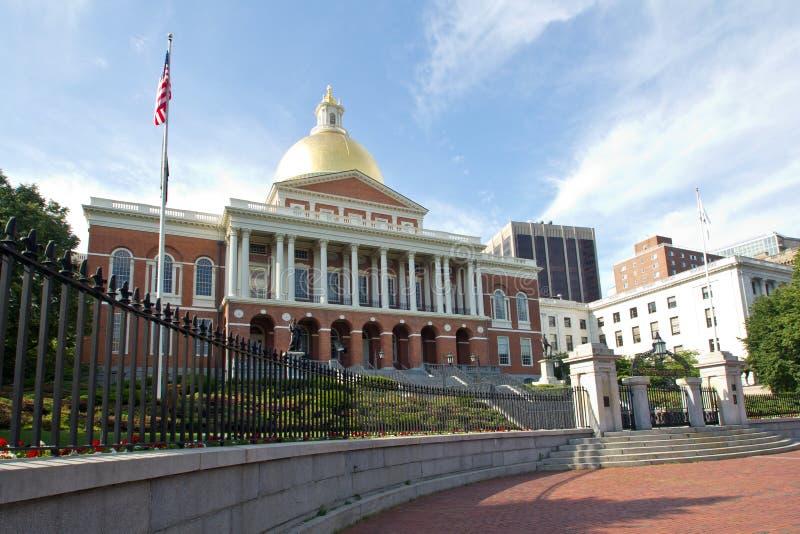 Boston, Massachusetts State House royalty free stock photo