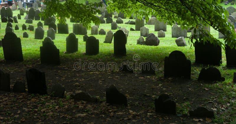 Boston, Massachusetts, Tierra de entierro del granero foto de archivo