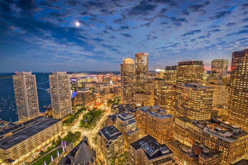 Boston Massachusetts, USA royaltyfria bilder