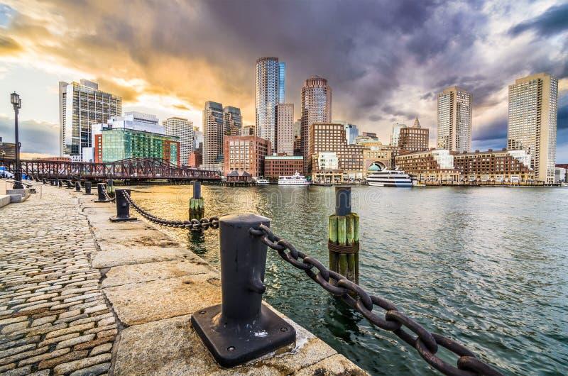 Boston Massachusetts, USA arkivfoton