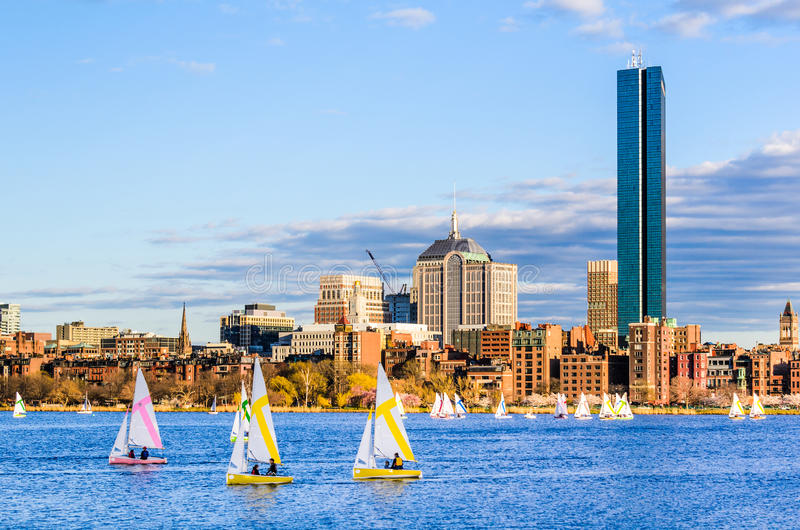 Boston Massachusetts, USA royaltyfri bild