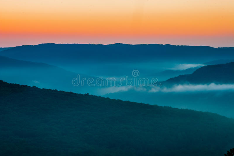 Boston Mountain Range royalty free stock images