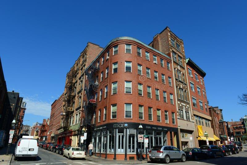 Boston North End, le Massachusetts, Etats-Unis images libres de droits