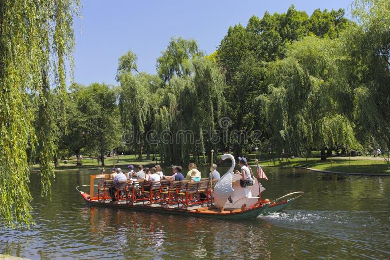 Boston, parcs photo stock
