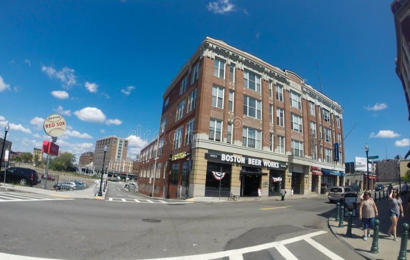 Boston piwa pracy zdjęcia stock