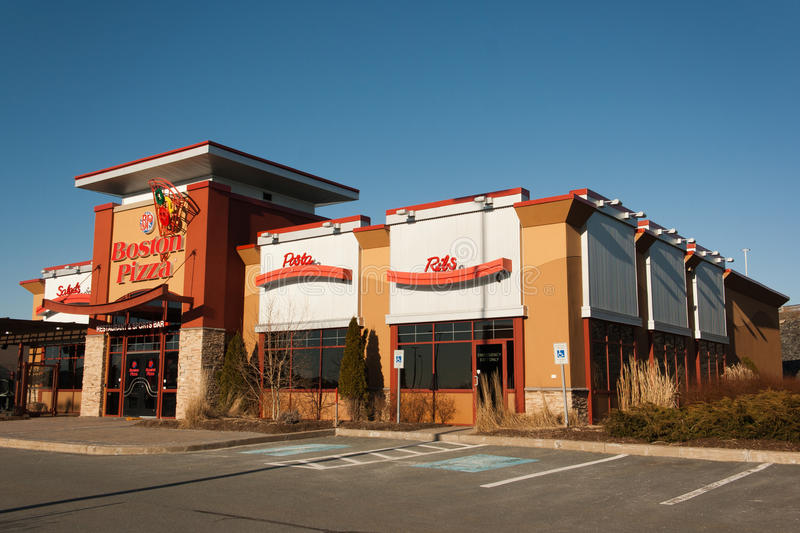 Boston pizza zdjęcia royalty free